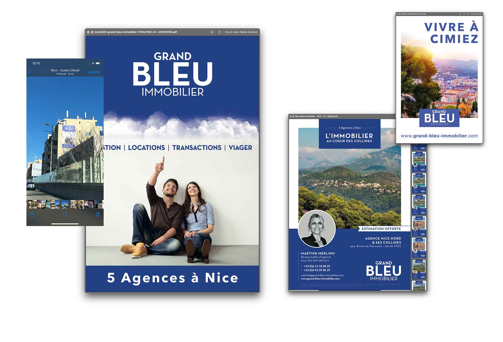 creation campagne d'affichage nice 4